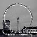 London Eye by dogboxphoto