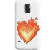 Fire Heart Samsung Galaxy Case/Skin
