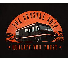 The Crystal Ship Photographic Print