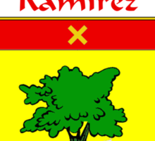 Ramírez Coat of Arms/Family Crest Sticker