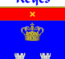 Reyes Coat of Arms/Family Crest Sticker