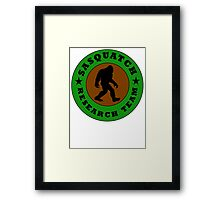 Sasquatch Research Team Framed Print