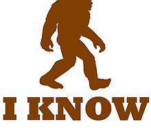 Bigfoot I Know by kwg2200