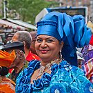 Colourful lady in Amsterdam. by naranzaria