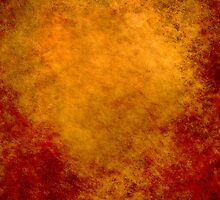 Orange Abstract iPad Case Old Retro Cool Grunge Texture Vintage  by Denis Marsili