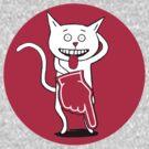 CRAZY CAT by Jane Newland