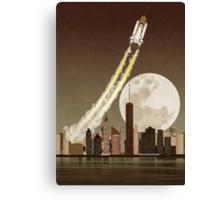 Rocket City Canvas Print