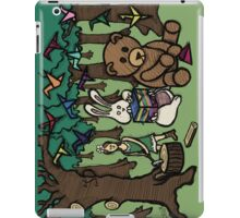 Teddy Bear And Bunny - Paper Swans iPad Case/Skin