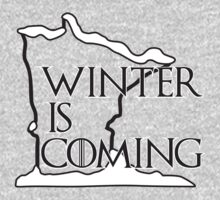 Winter is Coming (Black) Kids Clothes