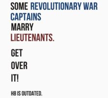 some revolutionary war captains marry lieutenants Kids Clothes