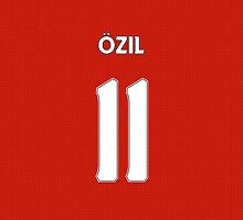 Arsenal - Ozil (11) by Thomas Stock