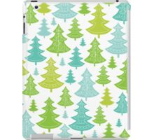 Decorative Christmas Trees Pattern iPad Case/Skin