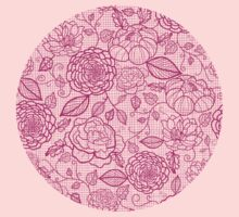 Pink lace flowers pattern Kids Clothes