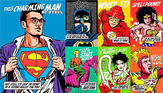 Post-Punk Super Friends Full Set 2 by butcherbilly