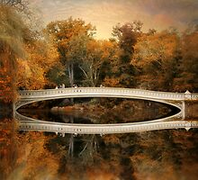 Bow Bridge Reflection  by Jessica Jenney