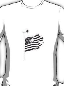 American Flags and Cameras T-Shirt