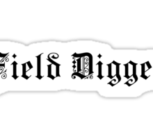 Field Digger – Metal detecting  Sticker