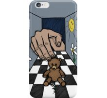 Teddy Bear And Bunny - The World We Create, The World We Live In, And The Universe Beyond iPhone Case/Skin