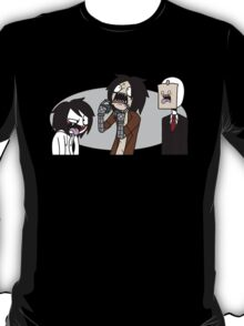 Creepypasta Funny Faces T-Shirt