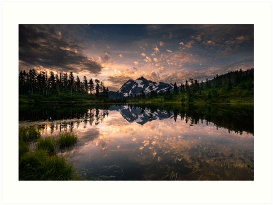 Picture Lake Awakening by Dan Mihai