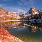 Lake Blanche Early Winter 10/6 by Mavourneen Strozewski