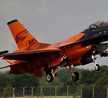 Dutch F16 by Martin Davenport