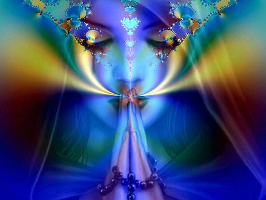 Mystic Prayer by Brian Exton