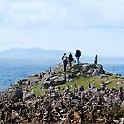 Among the cairns: Neist Point by Richard Flint
