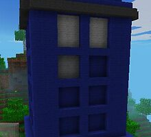 Minecraft TARDIS by nonny
