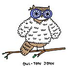 Owl-ton John by mickeyrose