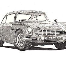 Aston Martin DB5 by RikReimert