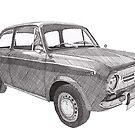 Fiat 850 by RikReimert