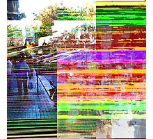 What does a visual term for distillation sound as? Photographic Print