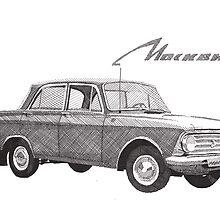 Moskvich 408 by RikReimert