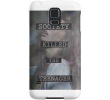 Society Killed the Teenager Samsung Galaxy Case/Skin