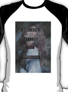 Society Killed the Teenager T-Shirt