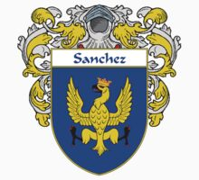 Sanchez Coat of Arms/Family Crest Kids Clothes