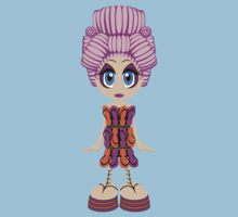 Flip-flop dress doll by tudi