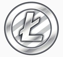 Litecoin Sticker - Bitcoin Crypto Currency by psmgop