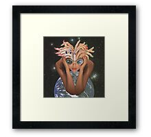Lucy in the Sky Framed Print