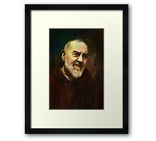 Pio of Pietrelcina Framed Print