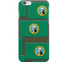 Smartphone Case - State Flag of Washington VI iPhone Case/Skin