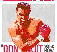 Muhammad Ali - G.O.A.T.  by kevincharles