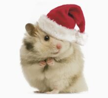 Christmas Hamster by kobalos