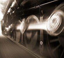 Big Wheels in Motion by Mike  McGlothlen