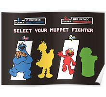 Muppet Fighter Poster