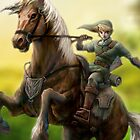 Legend of Zelda: Link of Hyrule by Grinned