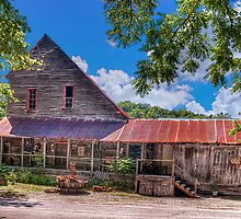 Old Dawt Mill by Jerry E Shelton