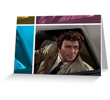 PETER FALK 1973 (COLUMBO) Greeting Card