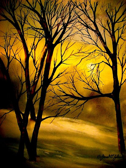 Yellow Moon by © Janis Zroback